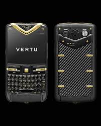 Vertu Constellation Quest Black Stainless Yellow Carousel