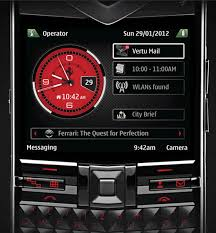 Vertu Constellation Quest Ferrari